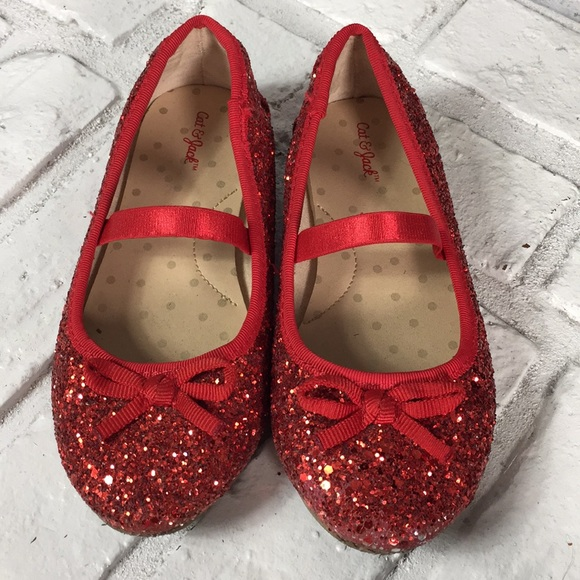877beef2b55c Cat   Jack Other - Cat   Jack red sparkly shoes ...